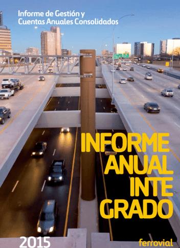Informe Anual Integrado 2015